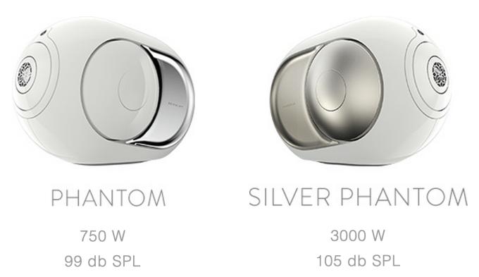 Devialet Phantom Speaker has 2 versions