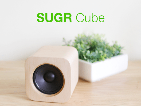 transfer your favorite music from iOS, Android, PC and Mac devices to Sugr Cube