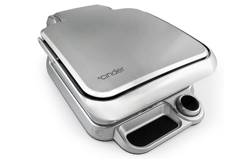 Cinder Sensing Cooker is compact