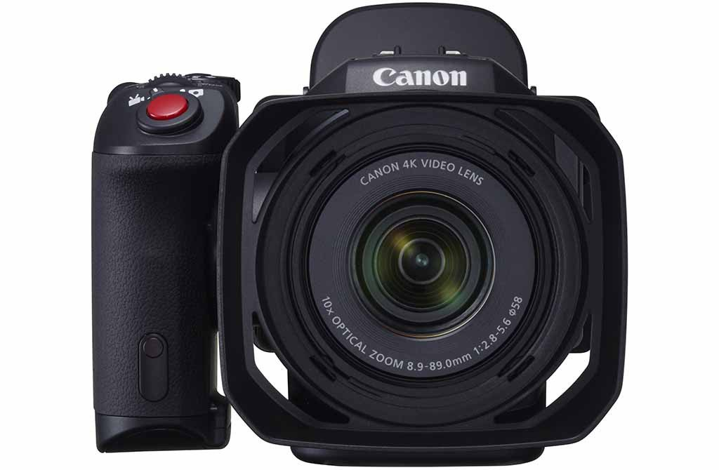 Canon XC10 is very light
