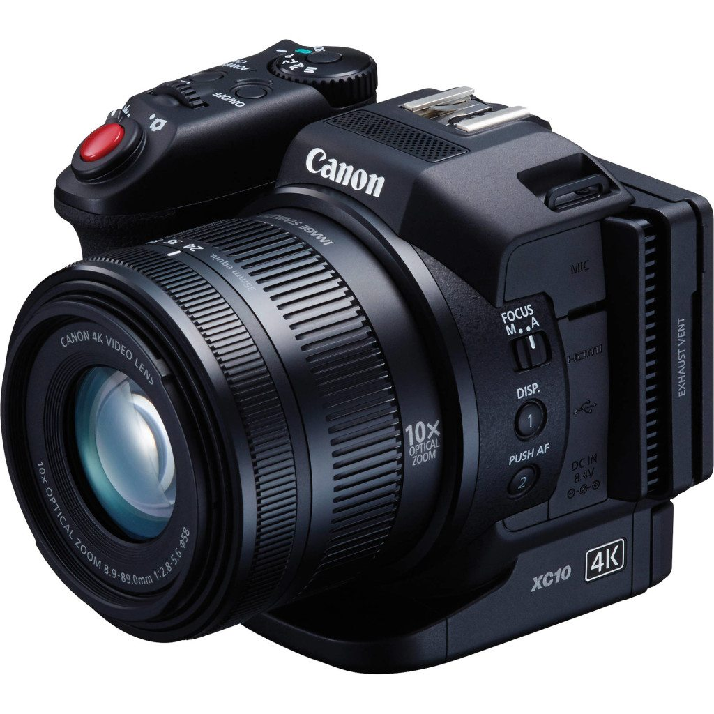 Canon XC10 has continuous AF mode