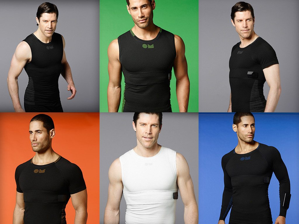 OMSignal Biometric Shirt comes in different styles