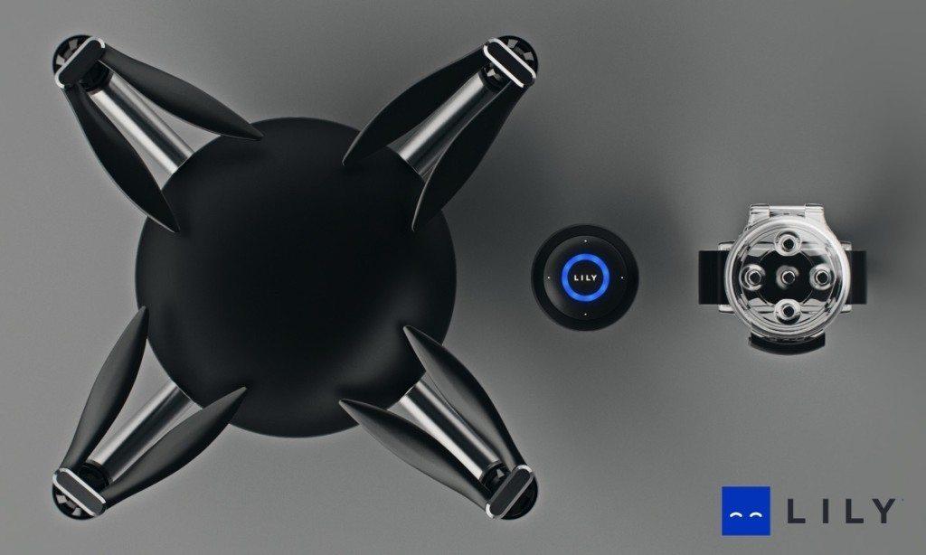 Lily Drone Camera has a sensor