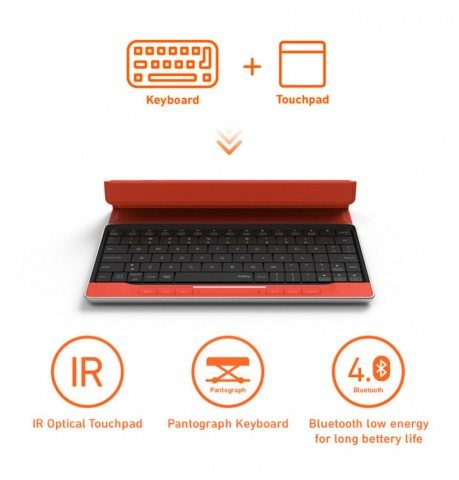 Moky Keyboard is very portable