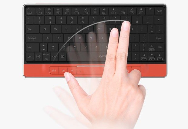 Moky Keyboard adds touch