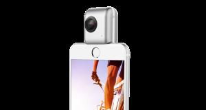 Insta360 Nano shoots in panoramic