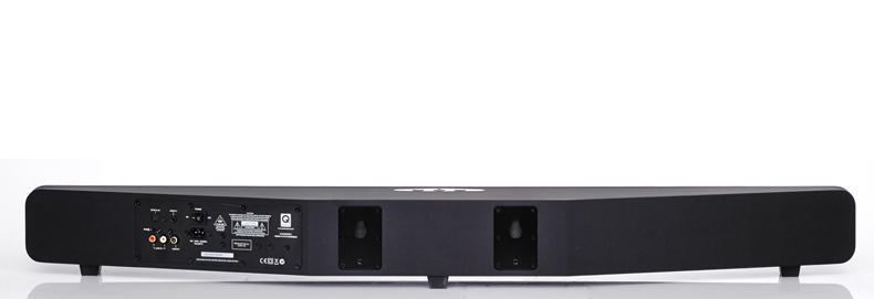 Q Acoustics Media 4 Soundbar is deep
