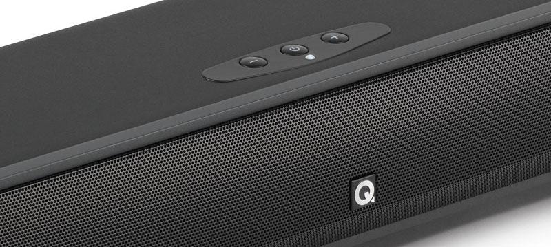 Q Acoustics Media 4 Soundbar has a sleek design