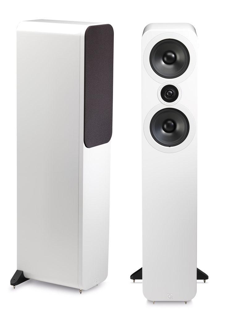 Q Acoustics 3050 speakers have a great design