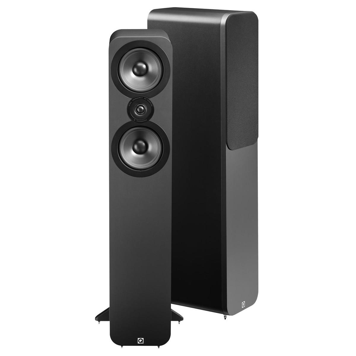 Q Accoustics 3050 floor speakers have great sound