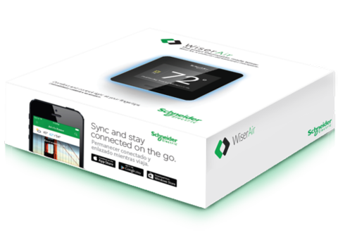 Schneider Electric Wiser Air Smart Thermostat is easy to use
