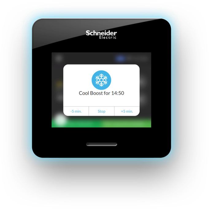 Schneider Electric Wiser Air Smart Thermostat is easy to install