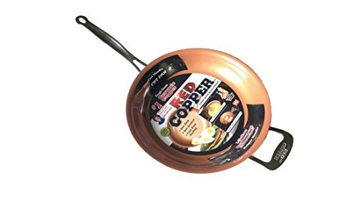 Telebrands Red Copper Pan is inexpensive