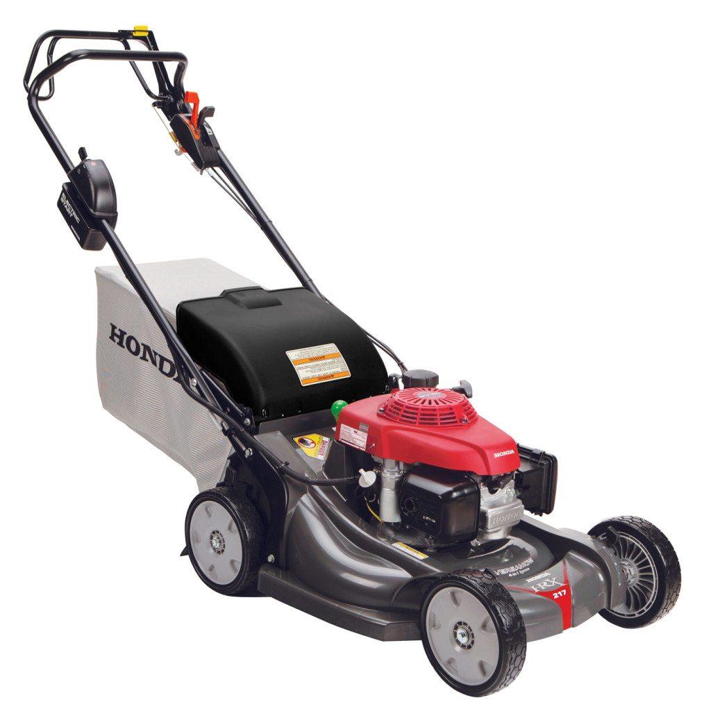 Honda HRX217HZA lawn mower has cruise control