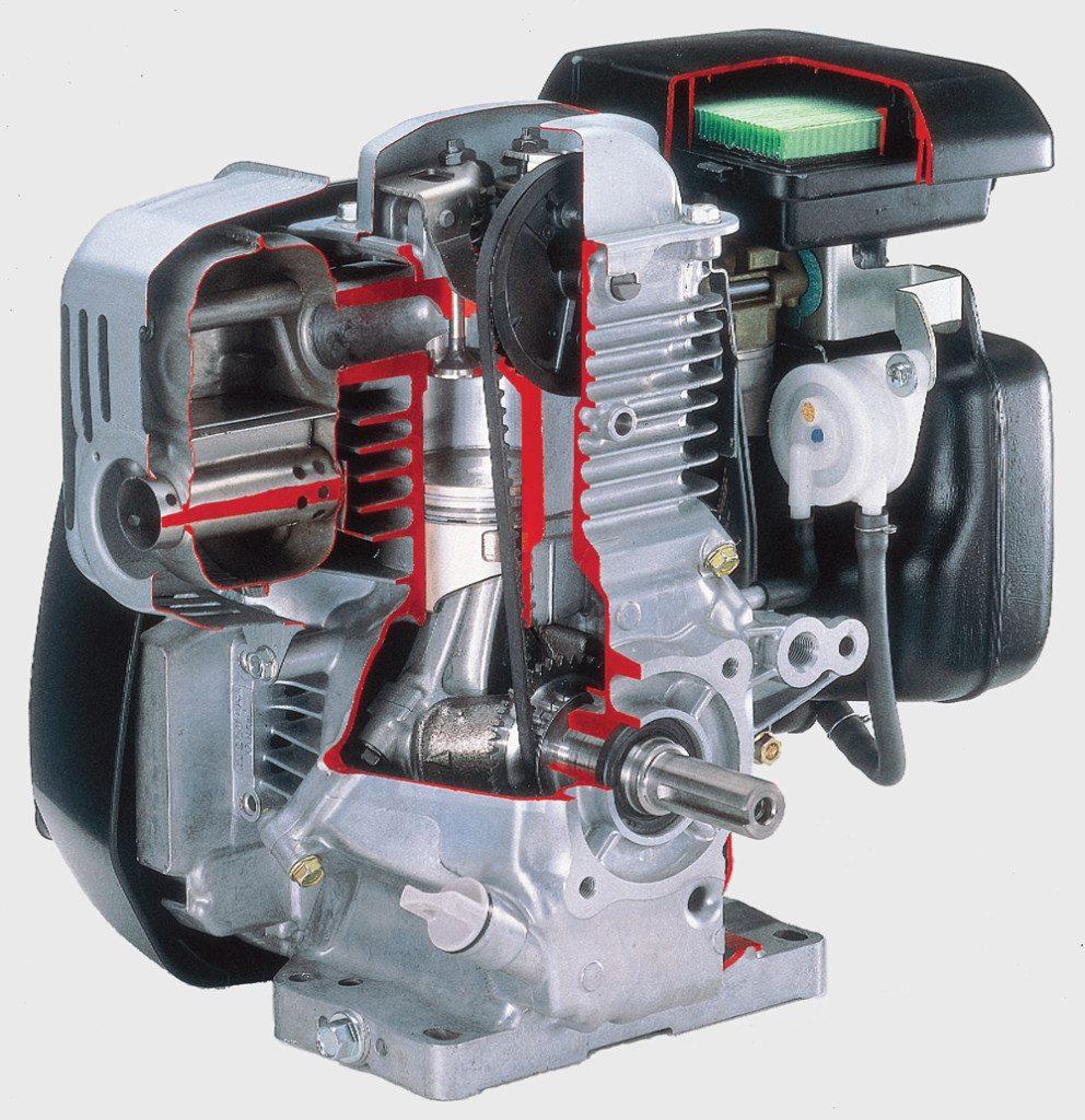 Honda HRX217HZA lawn mower has 190cc engine