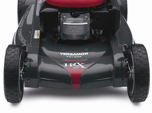 Honda HRX217HZA lawn mower is the best mower on the market