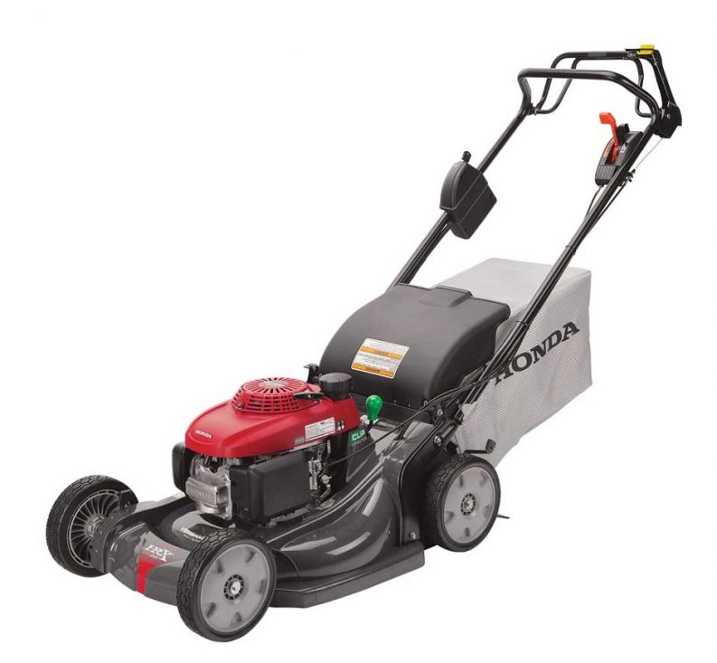 Honda HRX217HZA lawn mower has auto start