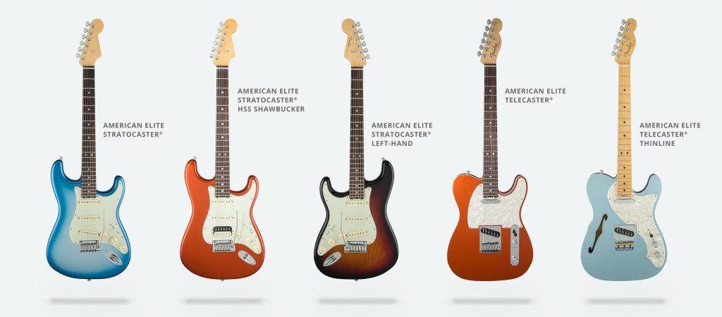 Fender American Elite Stratocaster comes in several lines