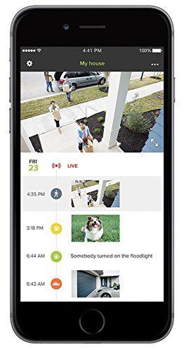 Netatmo Presence has an app