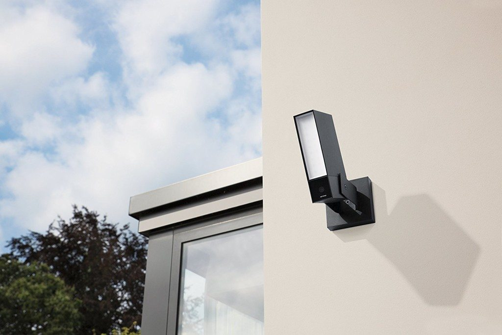 Netatmo Presence attaches to external wall