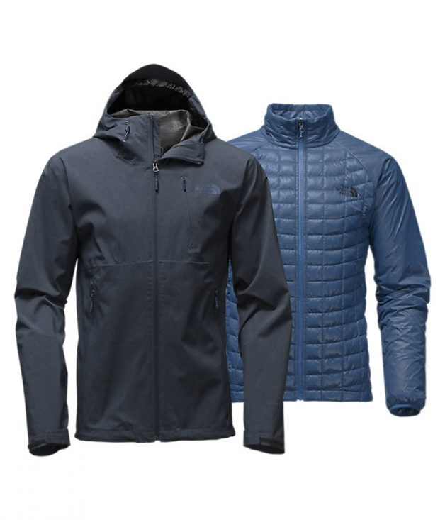 North Face Thermoball Triclimate Jacket is super warm