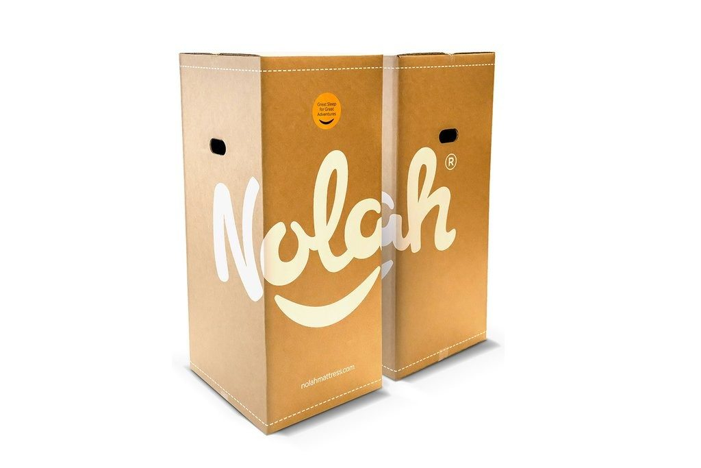 Nolah Mattress delivery box is small