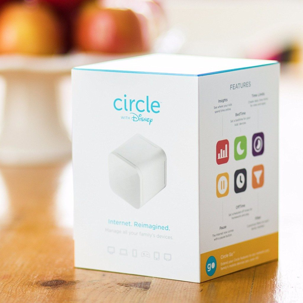 Circle with Disney can be connected to a router