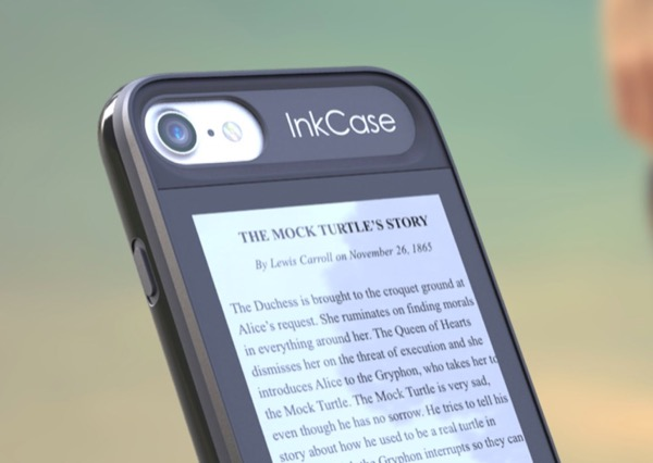 InkCase i7 makes reading a book easy