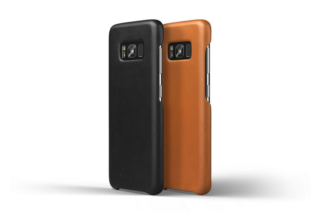 san francisco 35238 501a9 Mujjo first Leather Cases for Galaxy S8 - Gadget Gram