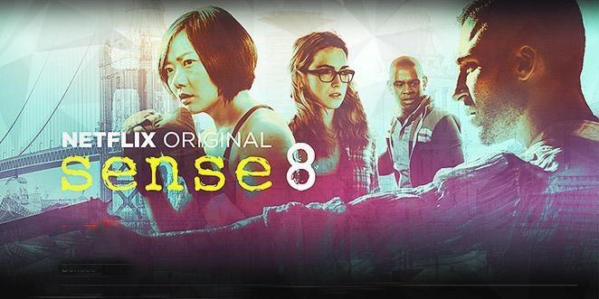 Sense 8 is new on Netflix