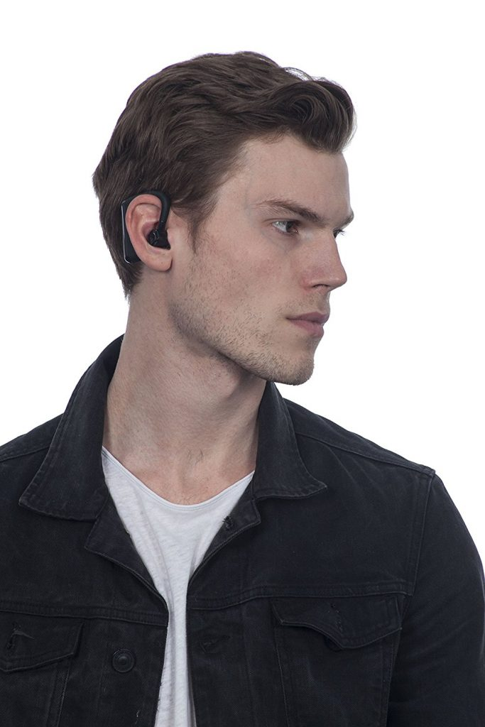 1Voice Wireless Fitness Earphones sync for stereo