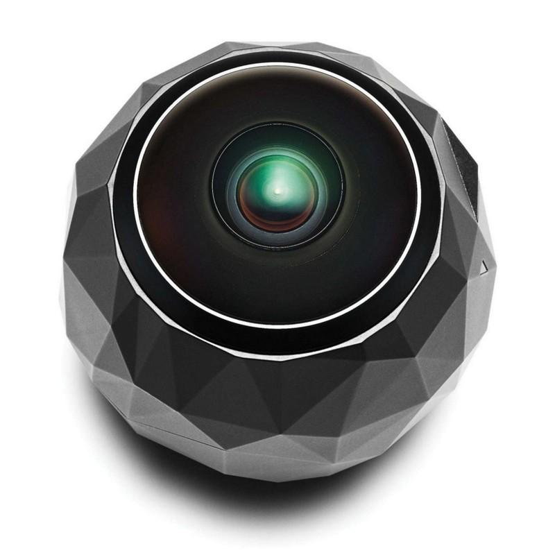 360fly 4K has one single large lense