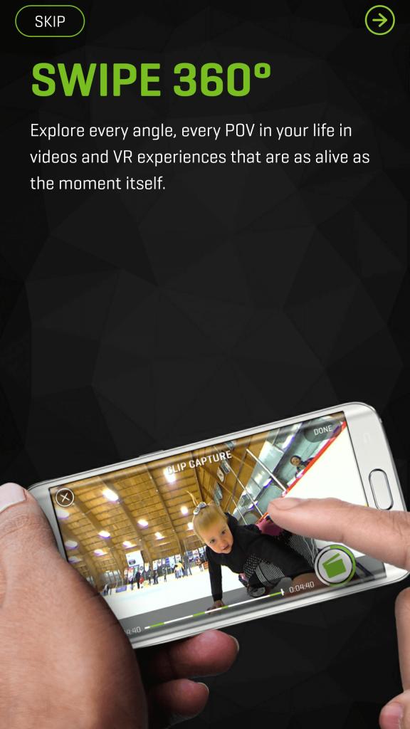 360fly 4K has a robust app