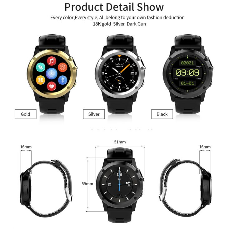 ZoiyTop JM01 Smartwatch has a lot of fitness features
