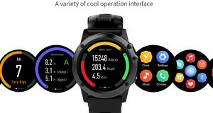 JM01 Smartwatch has an altimeter