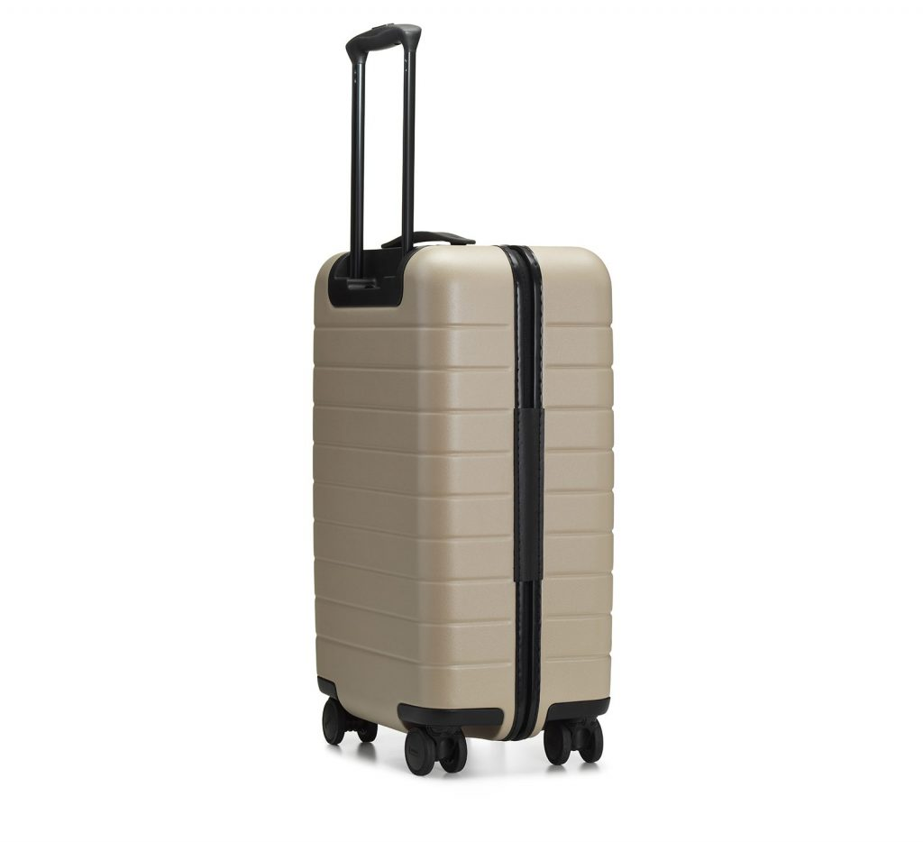 Away Travel The Medium has a polycarbonate shell