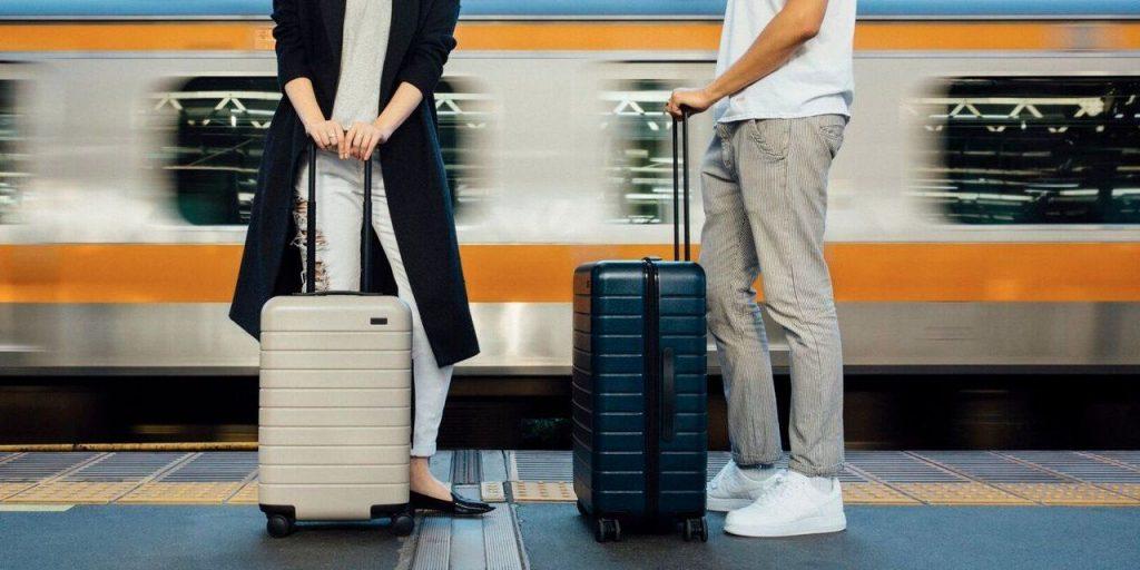Away Travel The Medium Luggage has durable wheels