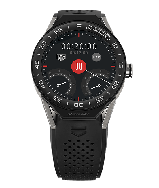 Tag Heuer Connected Modular 45 has cool watch faces