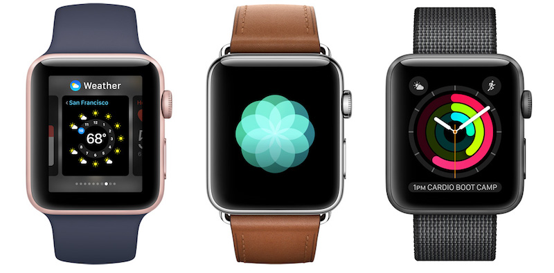 Apple Watch standalone available December 2017