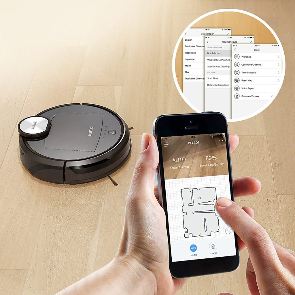 Ecovacs Deebot R95 has mopping feature