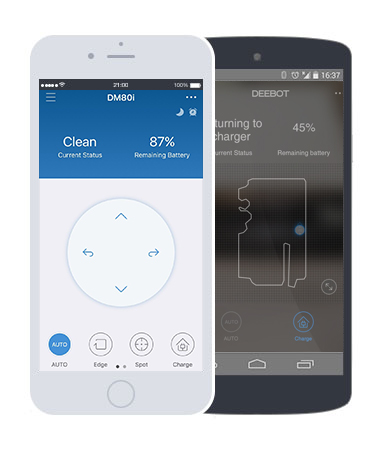 Ecovacs Deebot R95 App shows you a map of your home