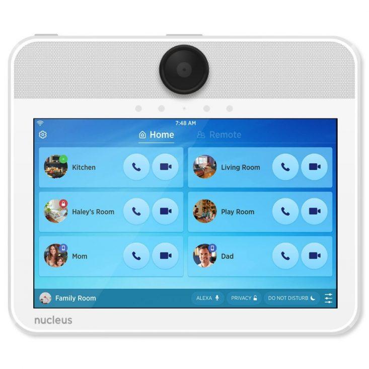 Nucleus Intercom has a simple interface