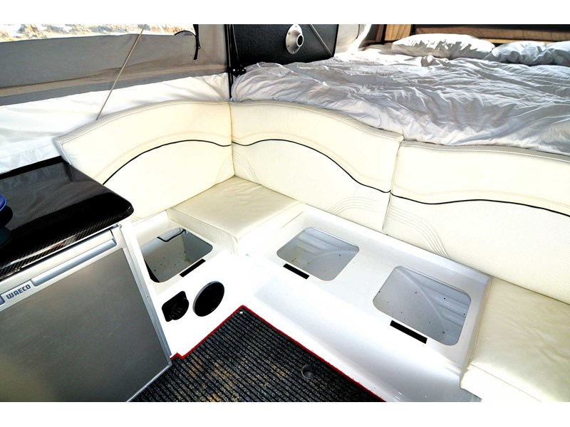 Ultimate Nexus Camper has a king size bed
