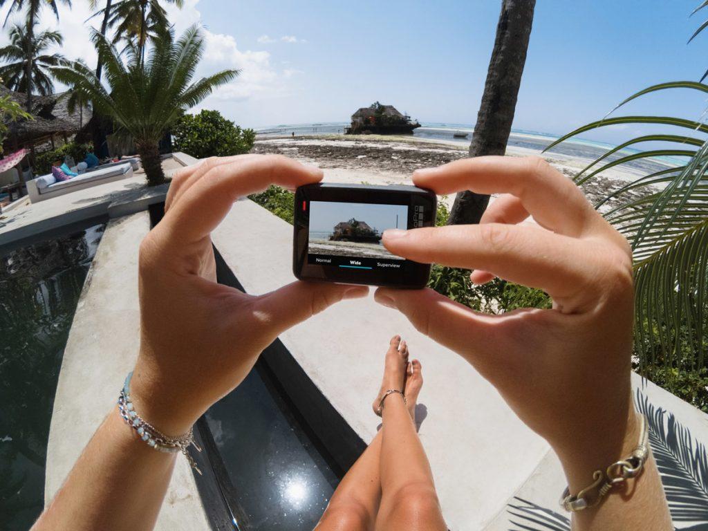 GoPro Hero6 Black has great image staplization