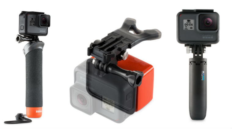 GoPro Hero6 Black works with all GoPro accessories