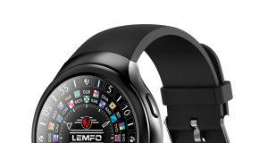 LEMFO LES2 smartwatch has smaller screen