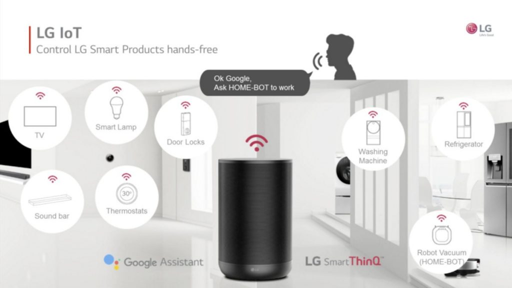 LG ThinQ just announced