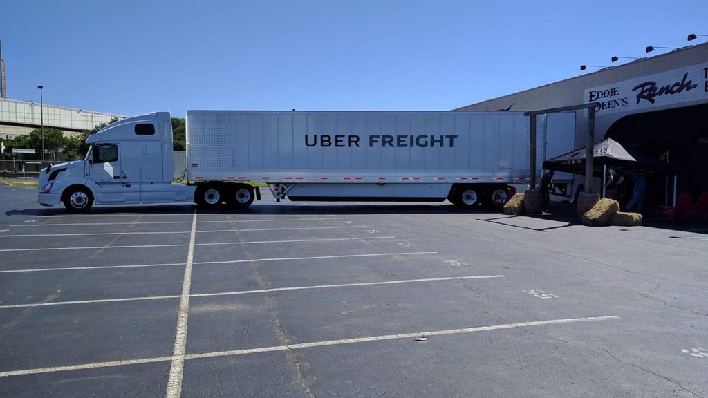 Uber Freight app is improving