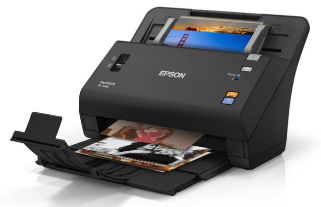 Epson FastFoto FF-640 has OCR