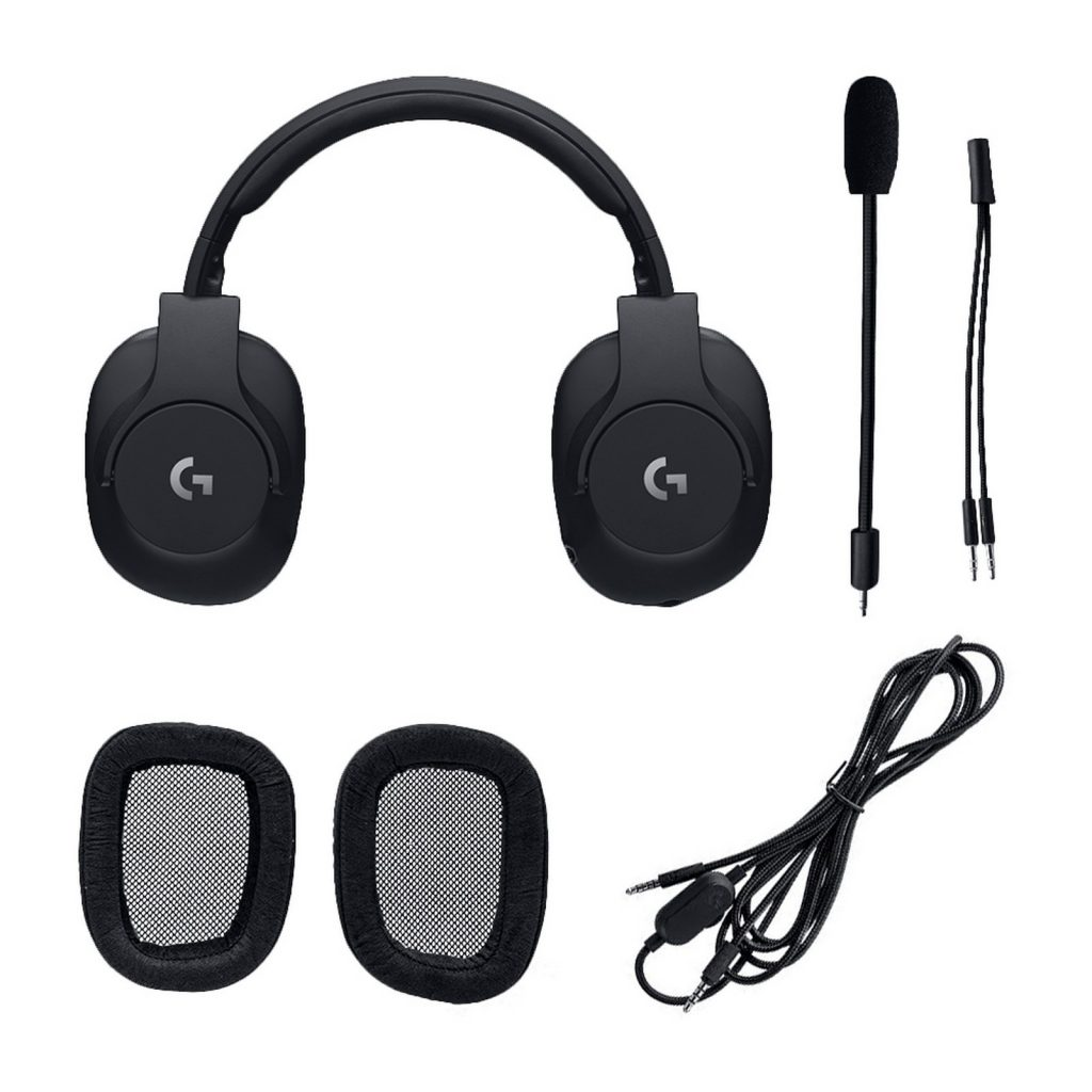 Logitech G Pro headphones comes with two ear pad designs